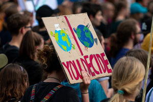 Going Green: campaigners across the globe unite to spread the message.